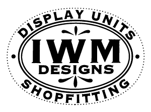 IWM Designs Ltd ~ Bespoke Shop Display Cabinets Hand-drawn Designs, Manufactured and Installed All Over The UK